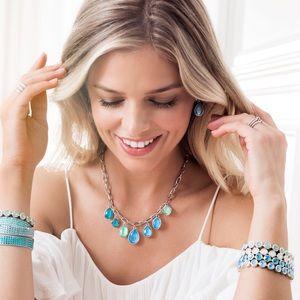 Swarovski Crystal Swirling Seas necklace